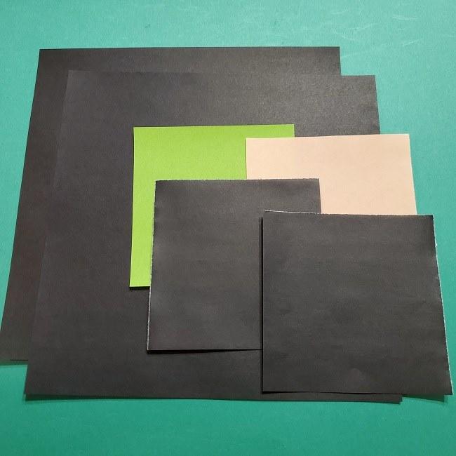 きめつの刃の折り紙 カナエ*用意するもの (1)