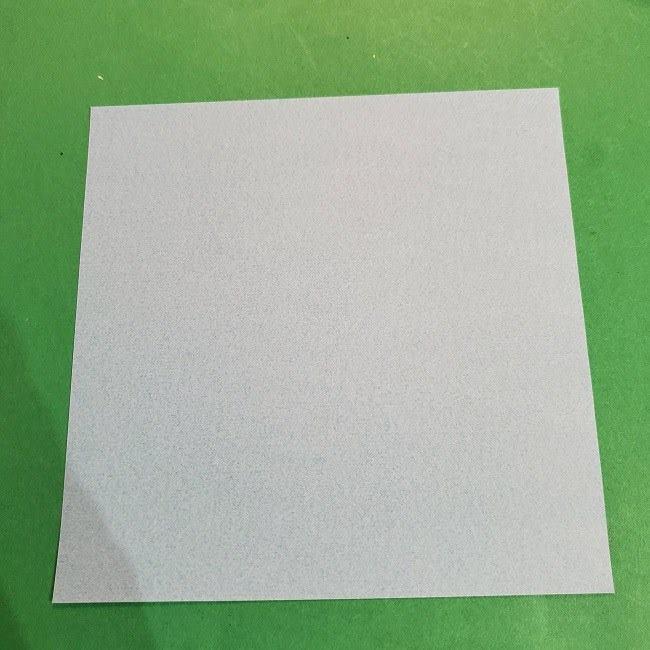 すみっこぐらしの折り紙 かばんの折り方・作り方 (1)