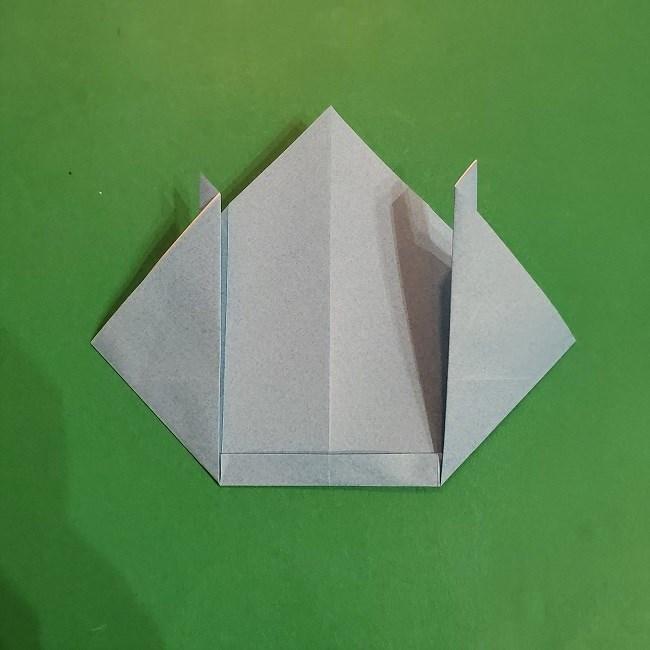 すみっこぐらしの折り紙 かばんの折り方・作り方 (11)