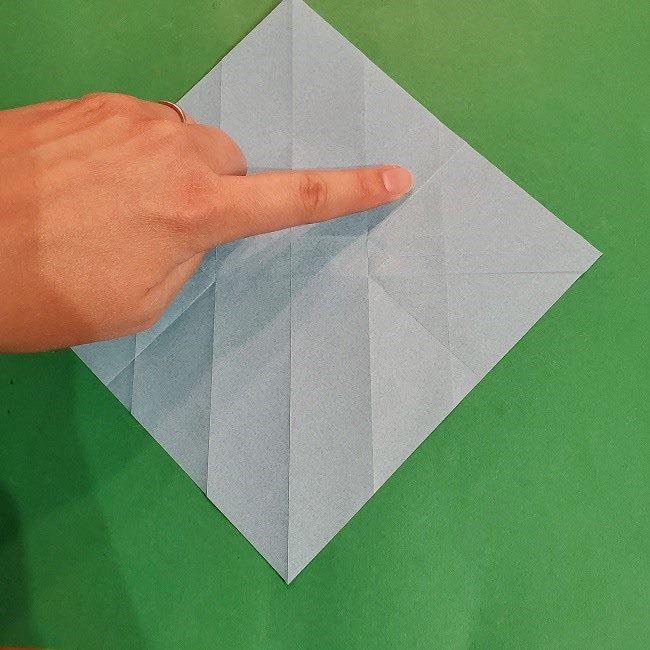 すみっこぐらしの折り紙 かばんの折り方・作り方 (15)