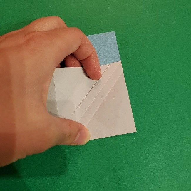 すみっこぐらしの折り紙 かばんの折り方・作り方 (16)
