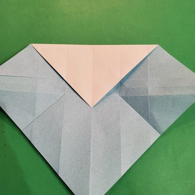 すみっこぐらしの折り紙 かばんの折り方・作り方 (18)