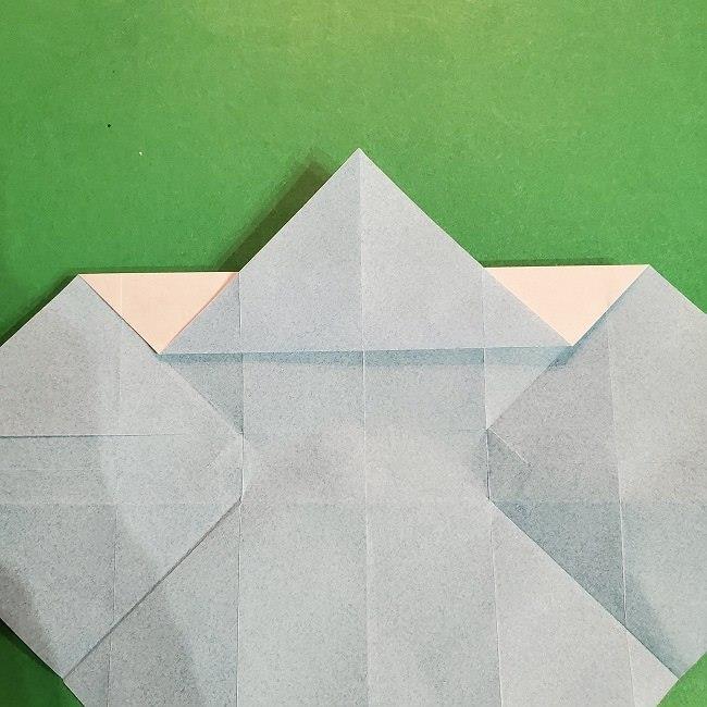 すみっこぐらしの折り紙 かばんの折り方・作り方 (19)