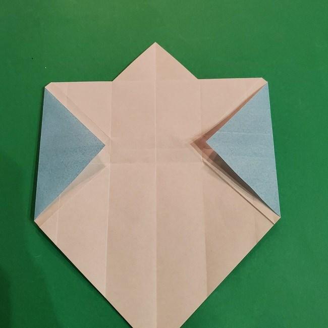 すみっこぐらしの折り紙 かばんの折り方・作り方 (21)