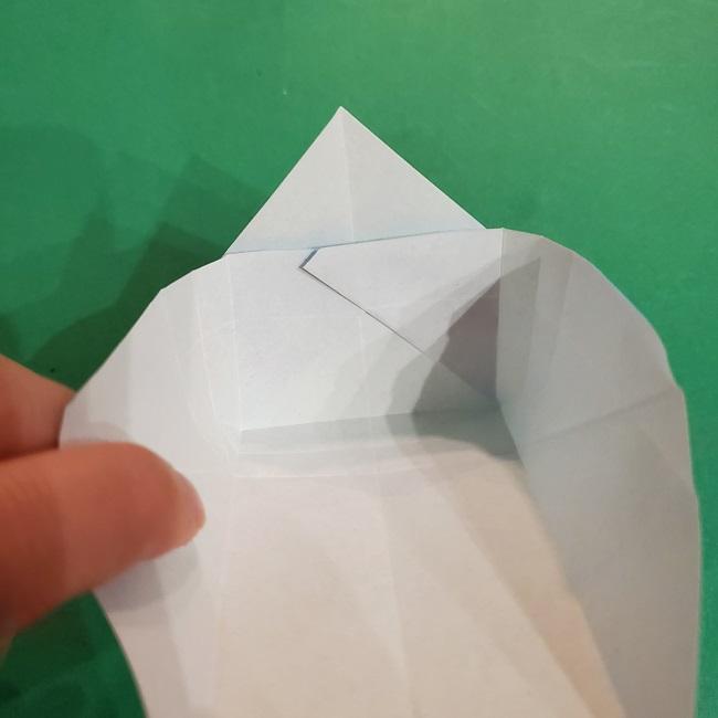 すみっこぐらしの折り紙 かばんの折り方・作り方 (24)
