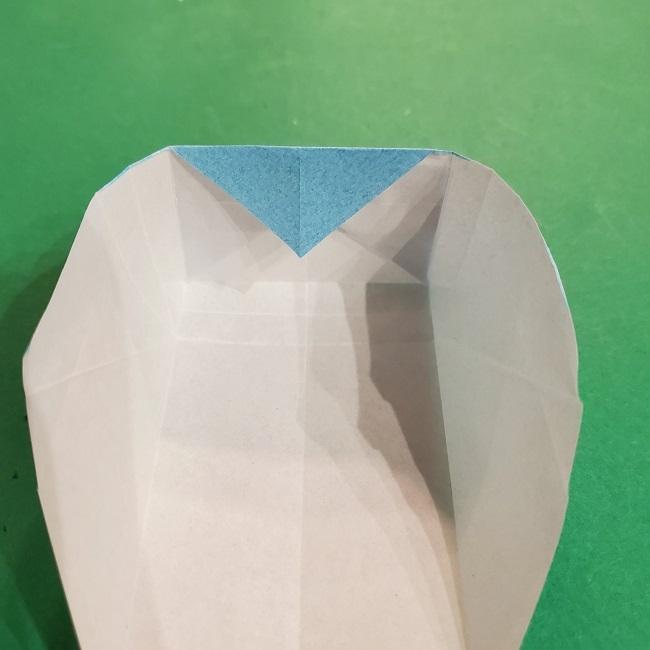 すみっこぐらしの折り紙 かばんの折り方・作り方 (25)