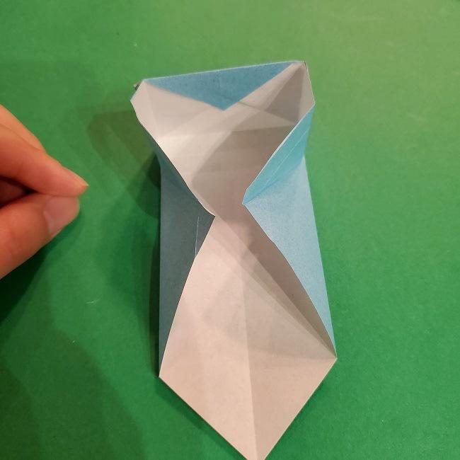 すみっこぐらしの折り紙 かばんの折り方・作り方 (26)