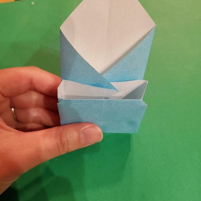 すみっこぐらしの折り紙 かばんの折り方・作り方 (27)