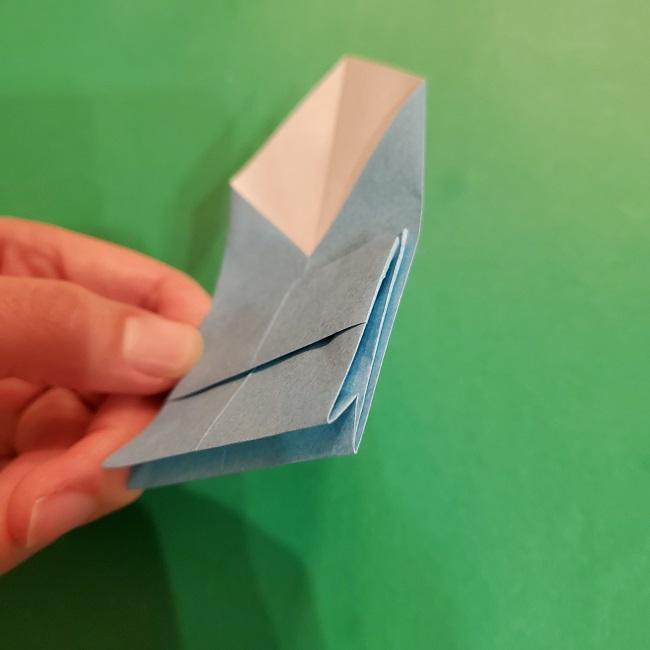 すみっこぐらしの折り紙 かばんの折り方・作り方 (29)