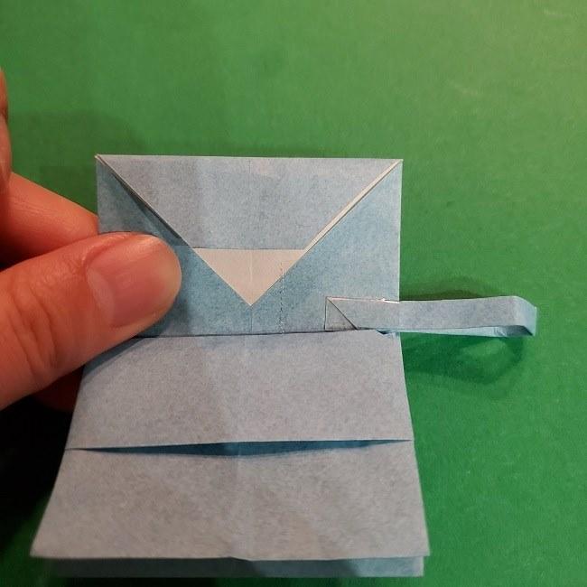 すみっこぐらしの折り紙 かばんの折り方・作り方 (38)