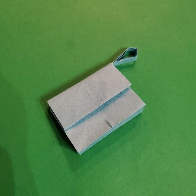 すみっこぐらしの折り紙 かばんの折り方・作り方 (39)
