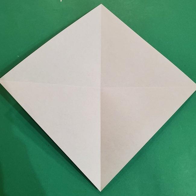 すみっこぐらしの折り紙 かばんの折り方・作り方 (4)
