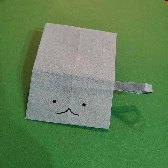 すみっこぐらしの折り紙 かばんの折り方・作り方 (40)