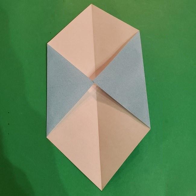 すみっこぐらしの折り紙 かばんの折り方・作り方 (5)