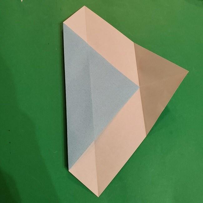 すみっこぐらしの折り紙 かばんの折り方・作り方 (6)