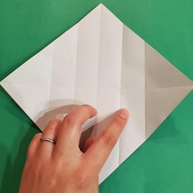 すみっこぐらしの折り紙 かばんの折り方・作り方 (8)