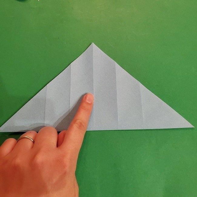 すみっこぐらしの折り紙 かばんの折り方・作り方 (9)