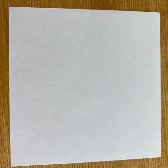 すみっこぐらしの折り紙 入れ物(小物入れ)*折り方 (1)