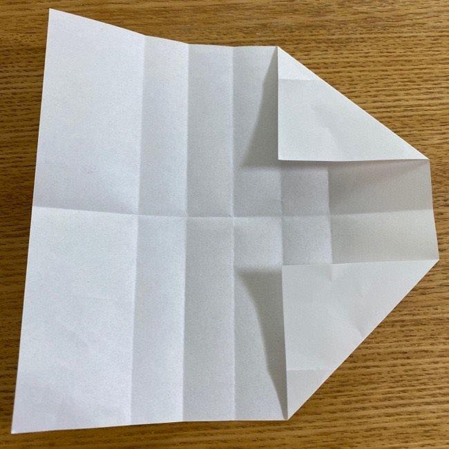 すみっこぐらしの折り紙 入れ物(小物入れ)*折り方 (13)