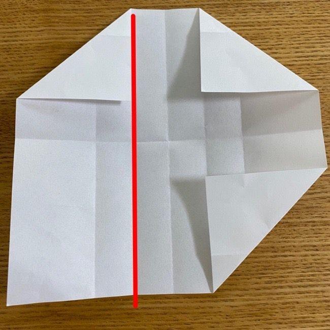 すみっこぐらしの折り紙 入れ物(小物入れ)*折り方 (14)