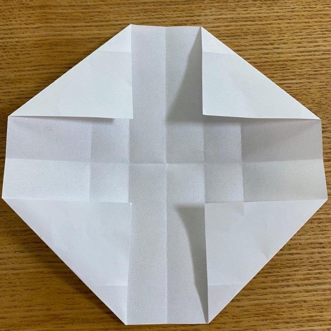 すみっこぐらしの折り紙 入れ物(小物入れ)*折り方 (15)