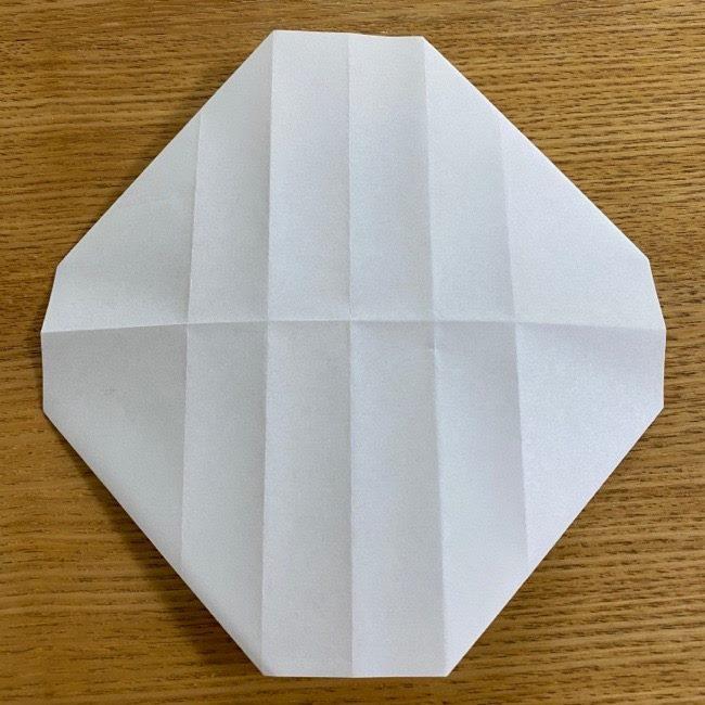 すみっこぐらしの折り紙 入れ物(小物入れ)*折り方 (16)