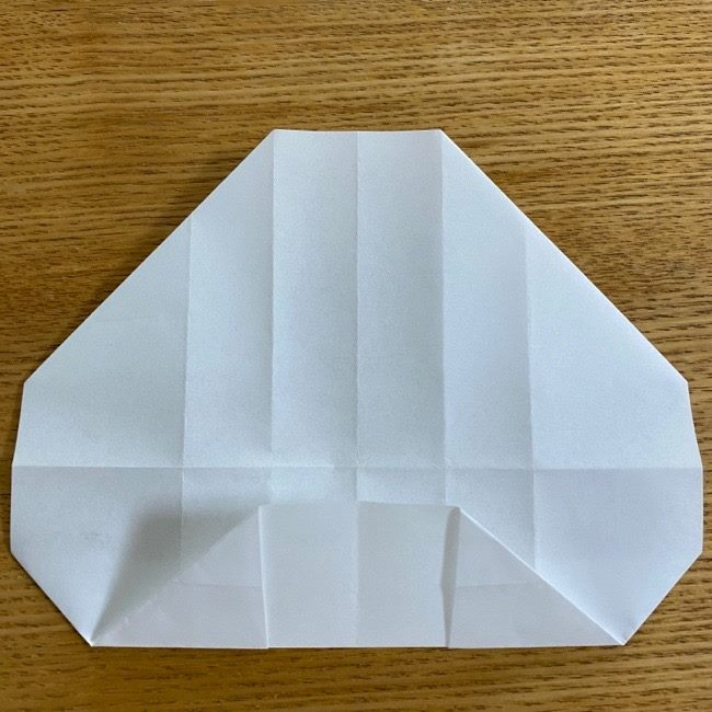 すみっこぐらしの折り紙 入れ物(小物入れ)*折り方 (17)