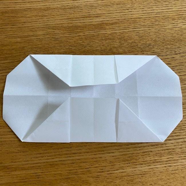 すみっこぐらしの折り紙 入れ物(小物入れ)*折り方 (18)