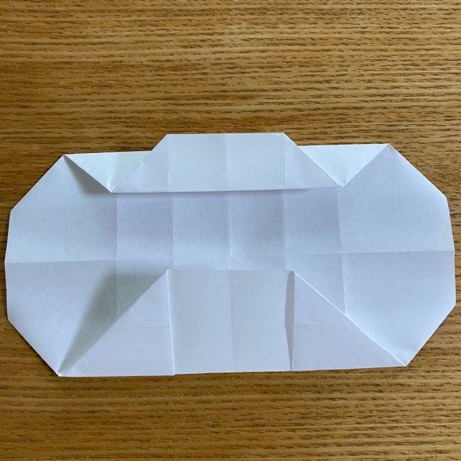 すみっこぐらしの折り紙 入れ物(小物入れ)*折り方 (19)