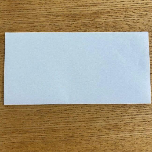すみっこぐらしの折り紙 入れ物(小物入れ)*折り方 (2)