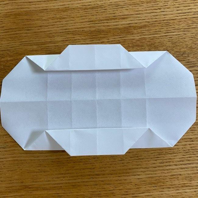 すみっこぐらしの折り紙 入れ物(小物入れ)*折り方 (20)