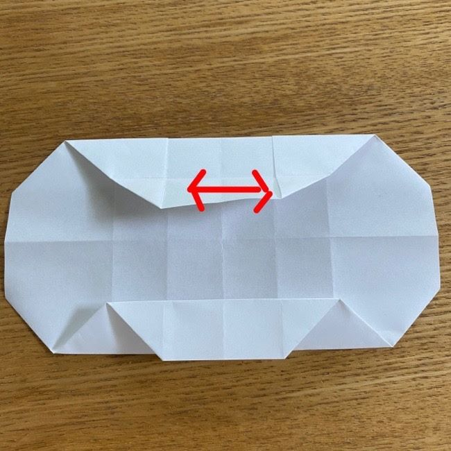 すみっこぐらしの折り紙 入れ物(小物入れ)*折り方 (21)