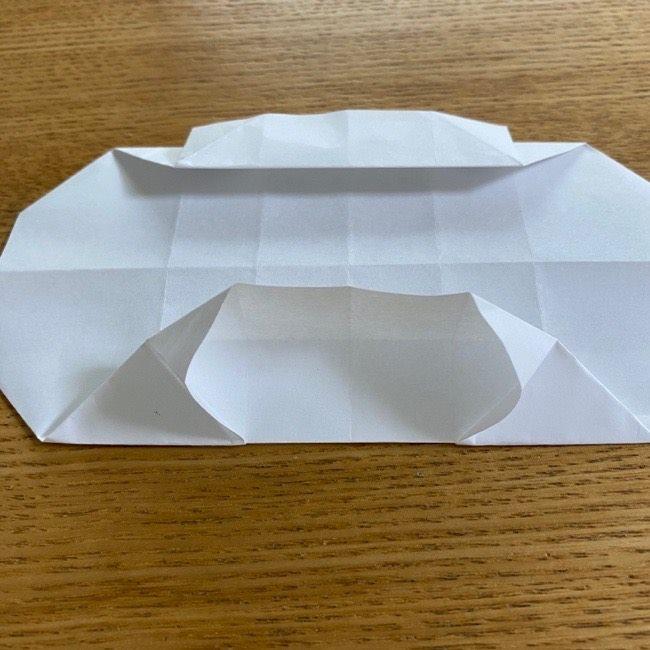 すみっこぐらしの折り紙 入れ物(小物入れ)*折り方 (23)