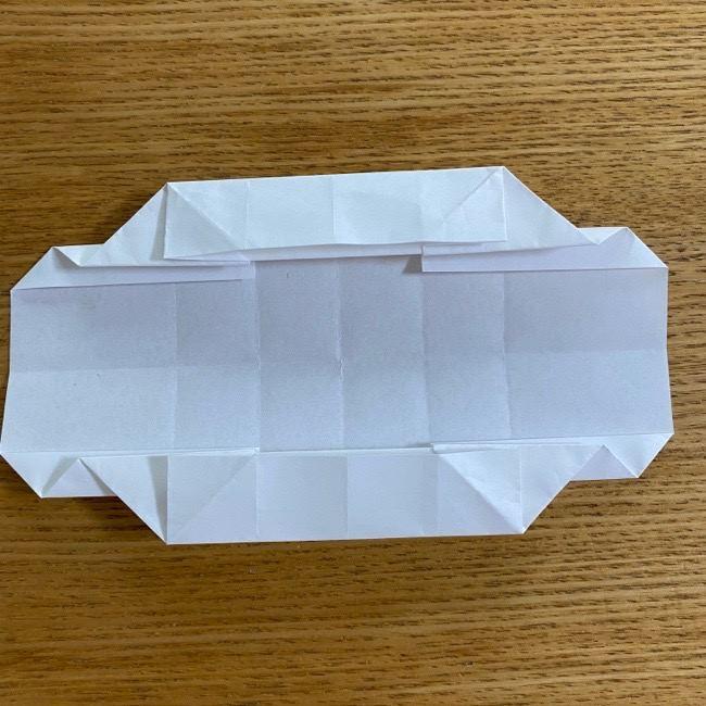 すみっこぐらしの折り紙 入れ物(小物入れ)*折り方 (24)