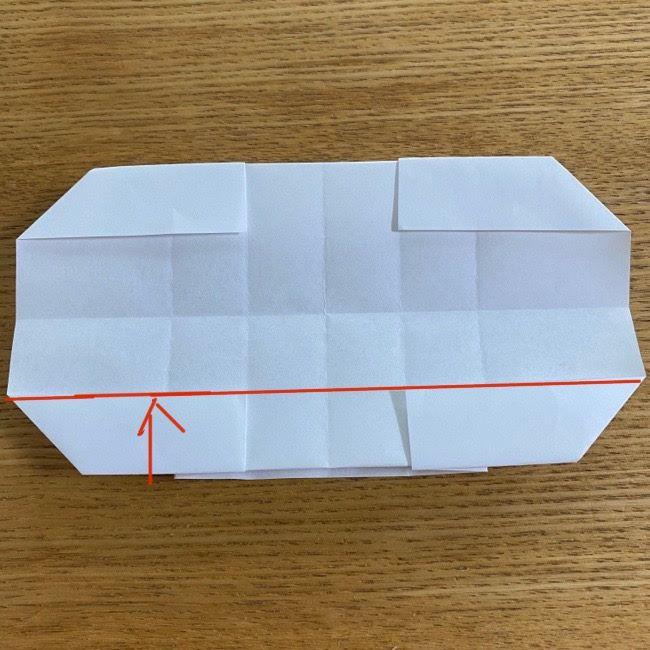 すみっこぐらしの折り紙 入れ物(小物入れ)*折り方 (25)