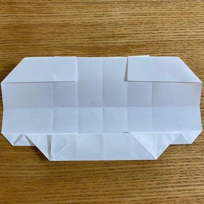 すみっこぐらしの折り紙 入れ物(小物入れ)*折り方 (26)