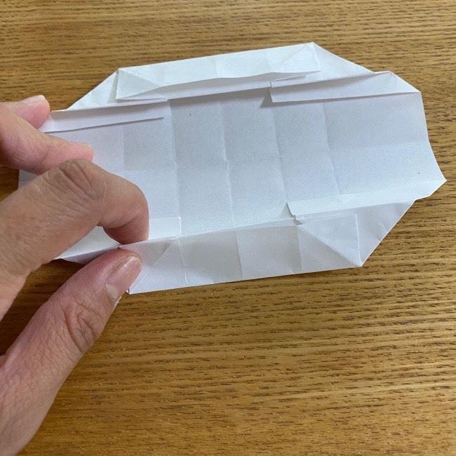 すみっこぐらしの折り紙 入れ物(小物入れ)*折り方 (27)