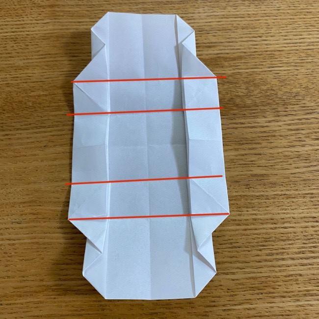すみっこぐらしの折り紙 入れ物(小物入れ)*折り方 (28)