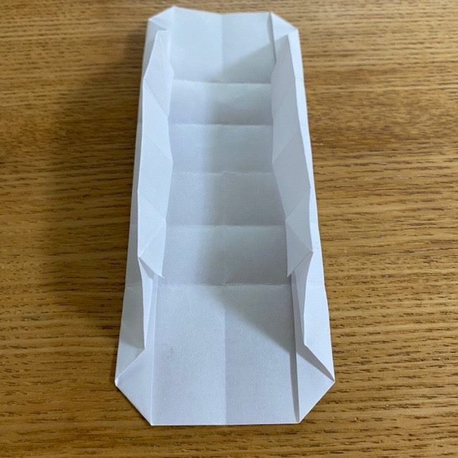 すみっこぐらしの折り紙 入れ物(小物入れ)*折り方 (29)