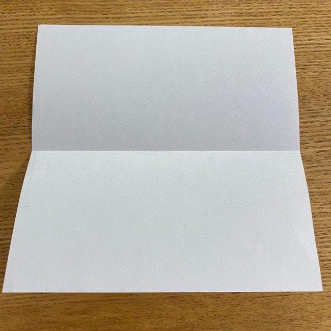 すみっこぐらしの折り紙 入れ物(小物入れ)*折り方 (3)