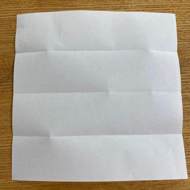 すみっこぐらしの折り紙 入れ物(小物入れ)*折り方 (5)