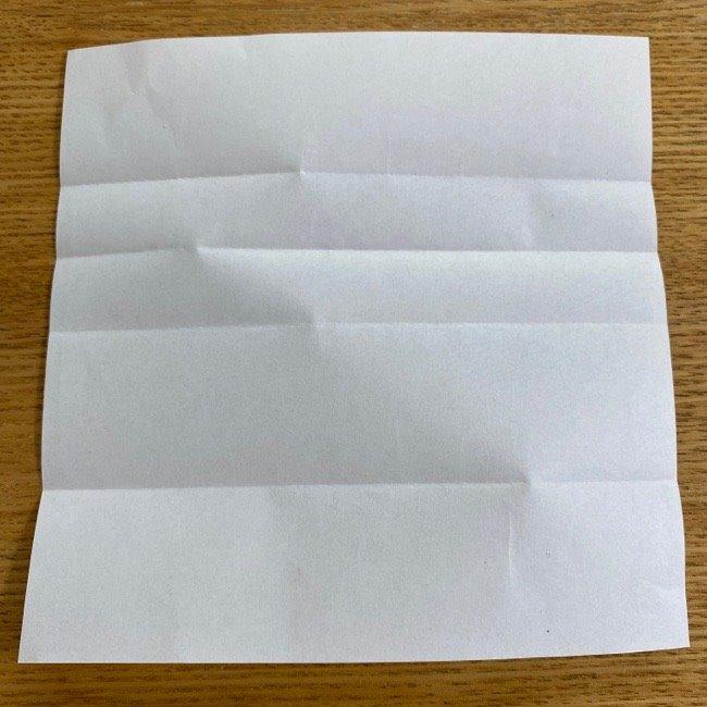 すみっこぐらしの折り紙 入れ物(小物入れ)*折り方 (7)