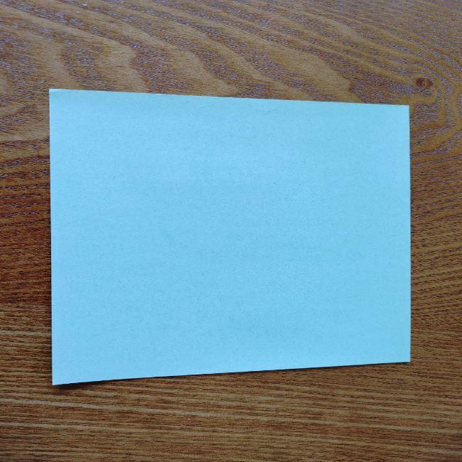 すみっこぐらし折り紙の折り方★簡単スリッパ (1)