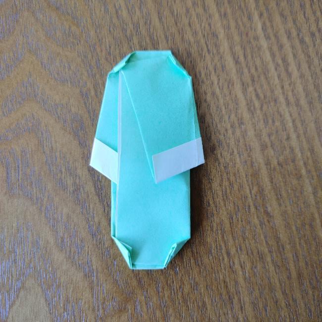 すみっこぐらし折り紙の折り方★簡単スリッパ (11)