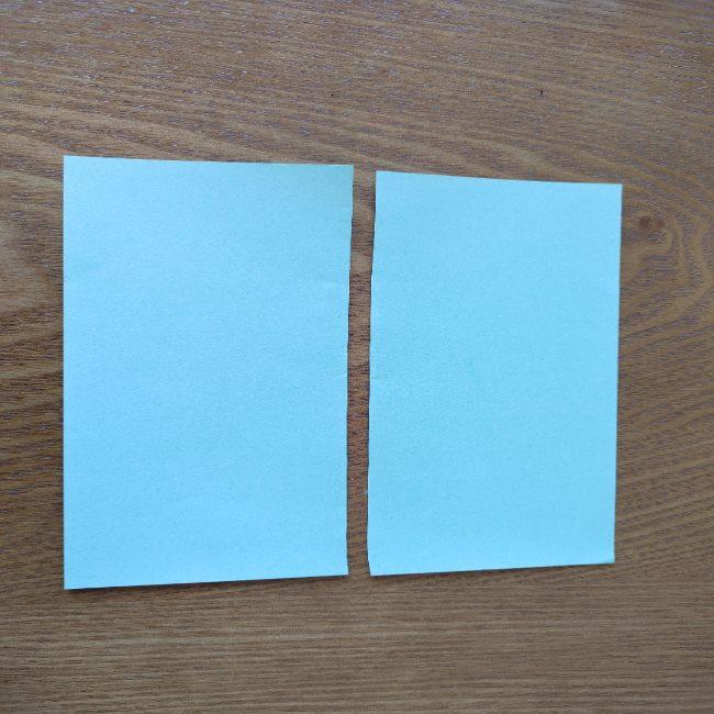 すみっこぐらし折り紙の折り方★簡単スリッパ (2)