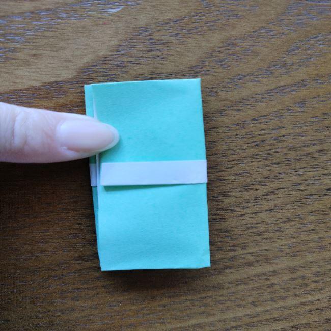 すみっこぐらし折り紙の折り方★簡単スリッパ (9)
