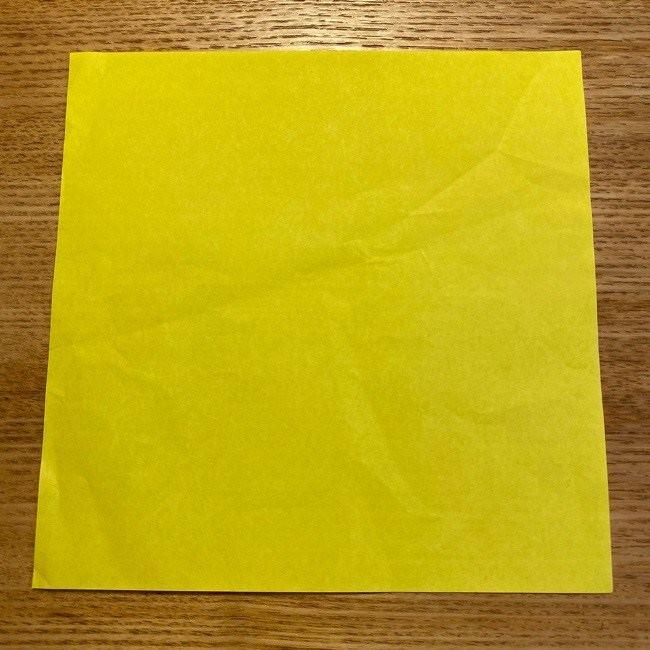 どうぶつの森しずえの折り紙*折り方・作り方 (1)