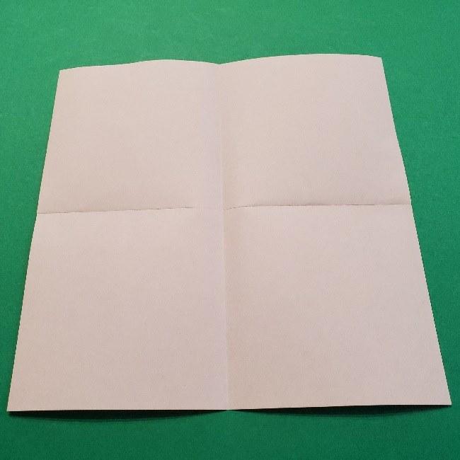 どうぶつの森の折り方「ももこ」の折り紙 (1)