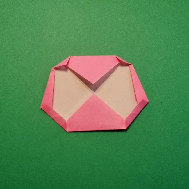 どうぶつの森の折り方「ももこ」の折り紙 (10)