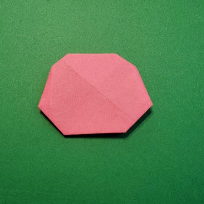 どうぶつの森の折り方「ももこ」の折り紙 (11)